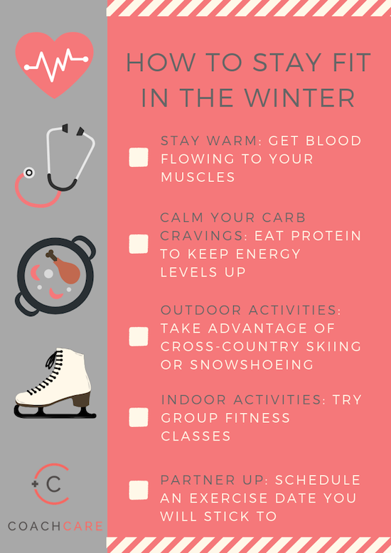 Infographic: How To Stay Fit in the Winter