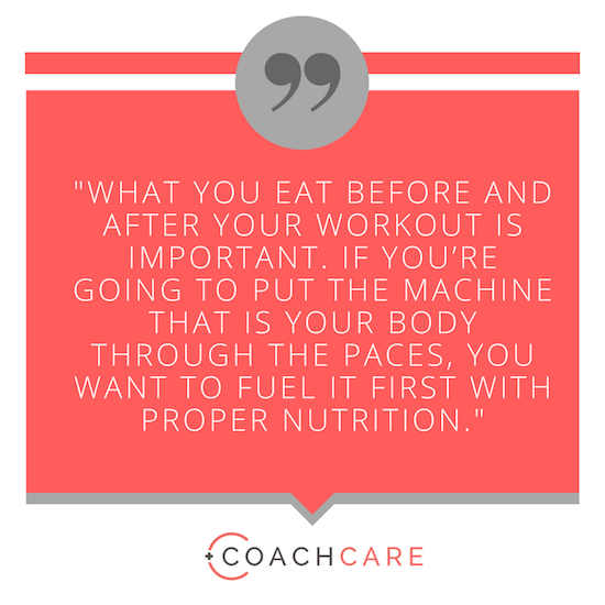 CoachCare Blog: What To Eat Before And After A Workout To Maximize Results